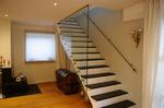Seitenwand an einer Treppe