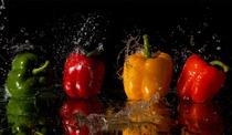 Bild einer Küchenrückwand mit digitalem Fotodruck