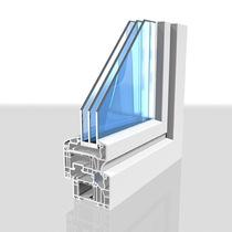Kunstofffenster-Querschnitt