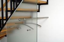 Bild einer Garderobe aus Glas