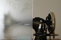 Bild einer Designglasscheibe